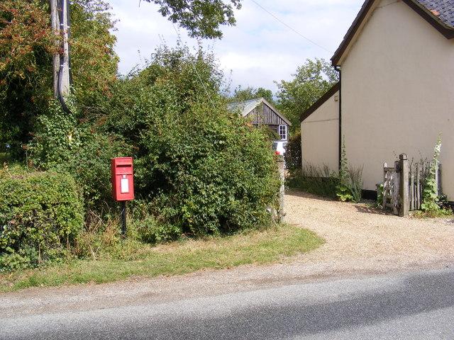 1 Sunnyside Cottage Postbox