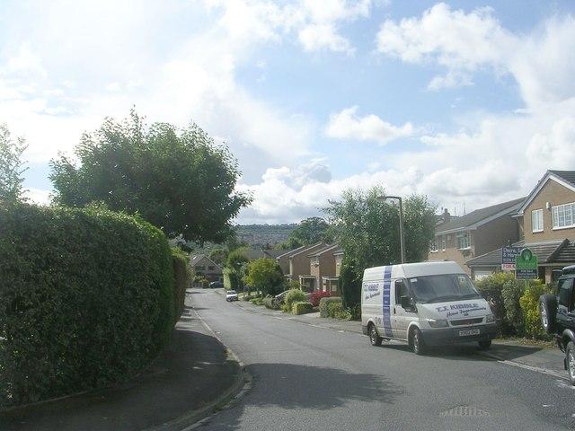 Hoyle Court Avenue - looking towards Hoyle Court Road