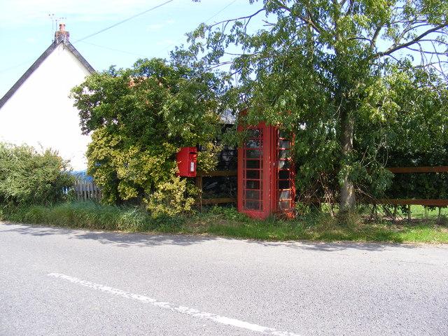 Bell Corner Telephone & Postbox