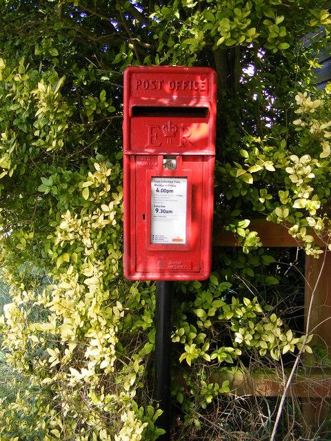 Bell Corner Postbox