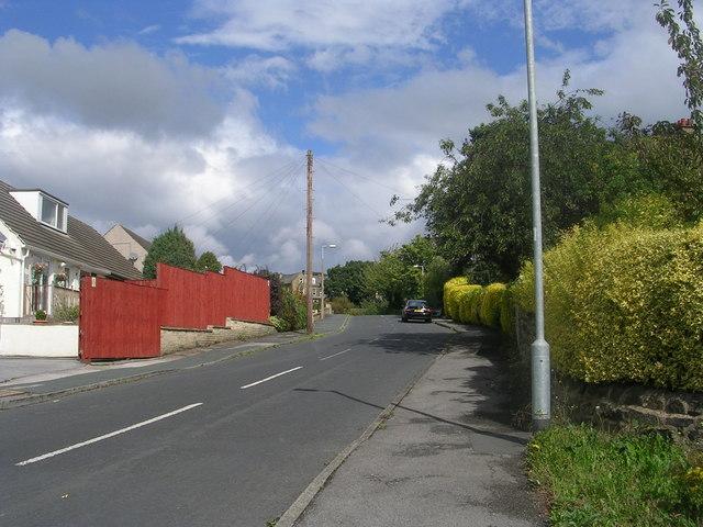 Fyfe Lane - viewed from Fyfe Crescent