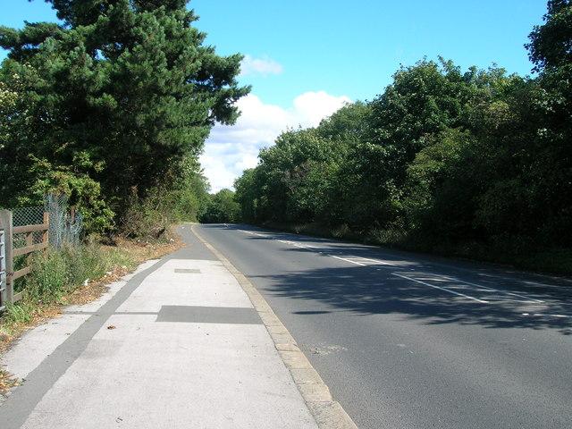 A631 towards Bawtry