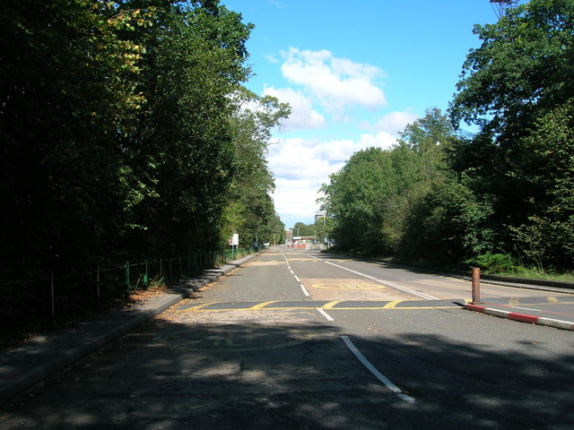 Road to Maltby Colliery
