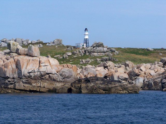 Peninnis Head Lighthouse, St Mary's, Isles Of Scilly