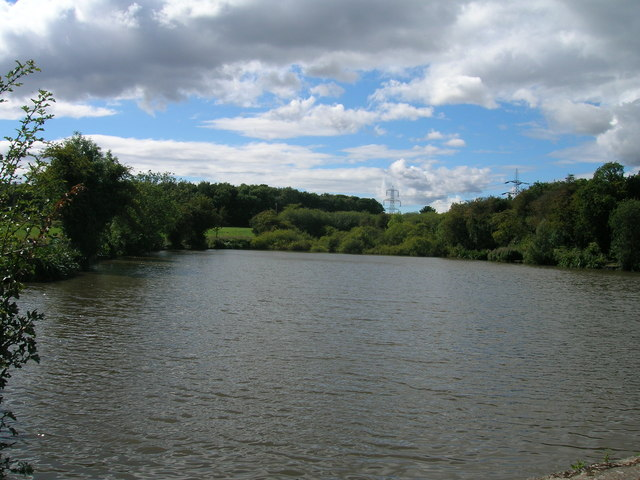 Fishing lake near Sandbeck Lodge