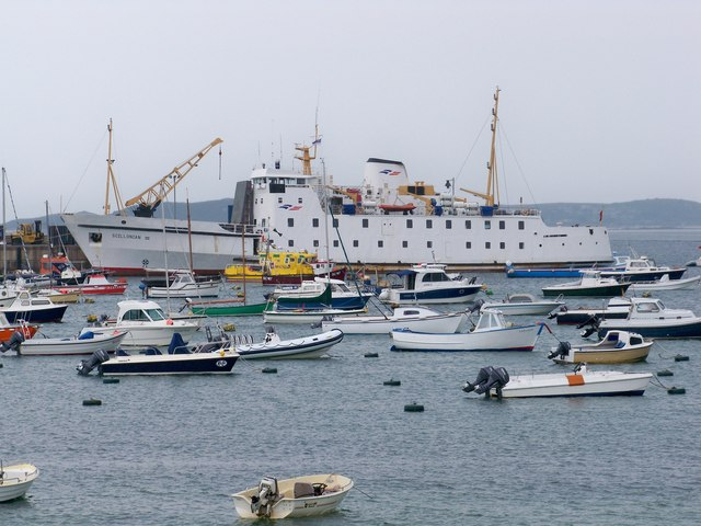 RMV Scillonian III, St Mary's, Isles Of Scilly