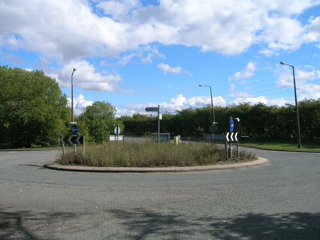 Roundabout on Stainton Lane