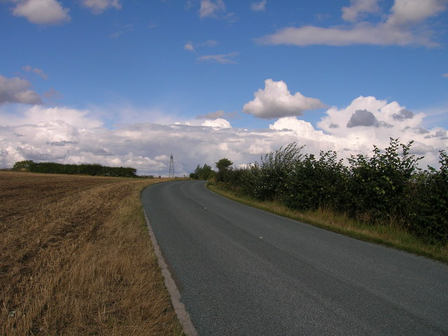 B6376 towards Braithwell
