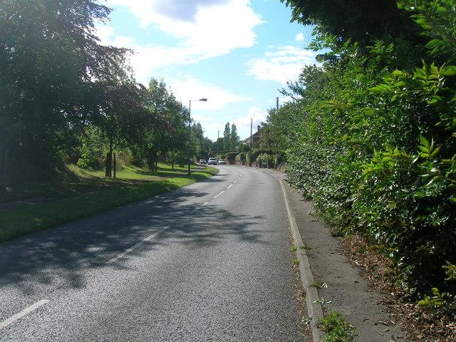 Ashton Lane heading west