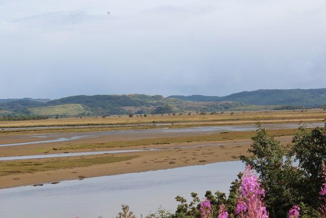 Estuarine flats of the River Add