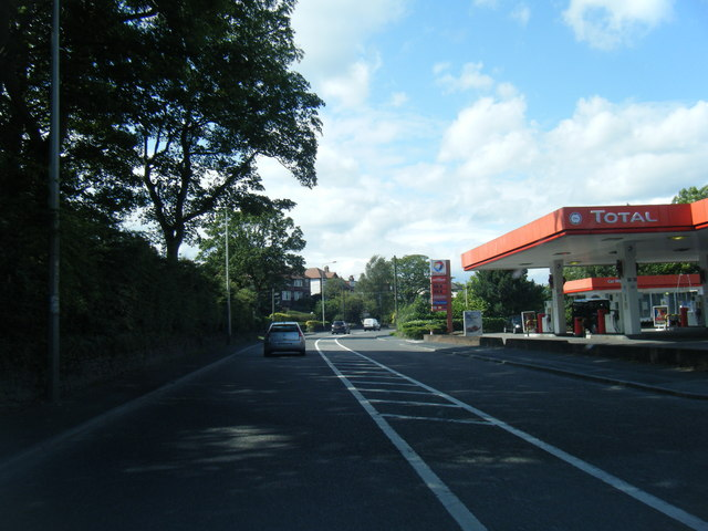 Buxton Road filling station