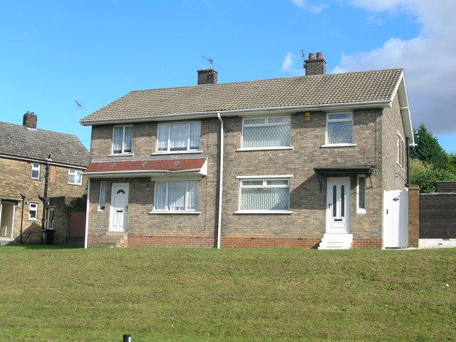 Houses on Edlington Lane