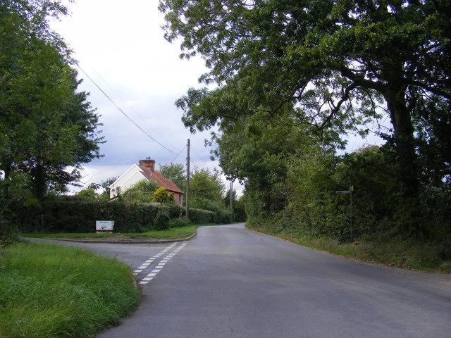 Otley Road, Grundisburgh Corner