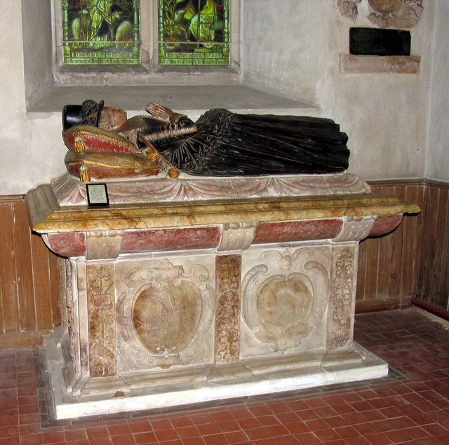 St Mary, Stansted Mountfitchet - Tomb chest