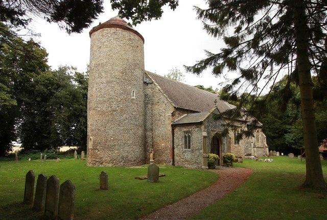 All Saints, Welborne