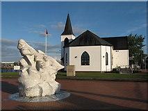 ST1974 : Norwegian Church, Cardiff Bay by Gareth James