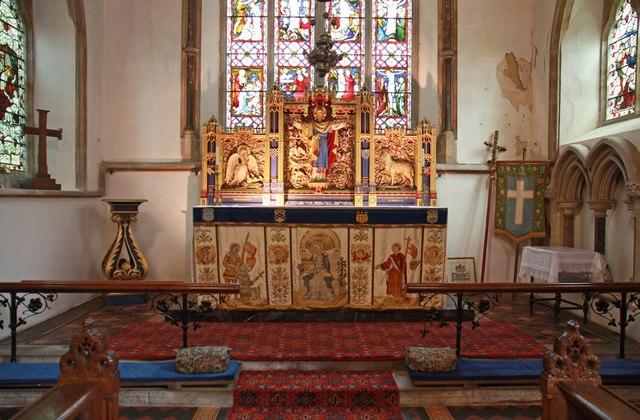 All Saints, Welborne - Sanctuary