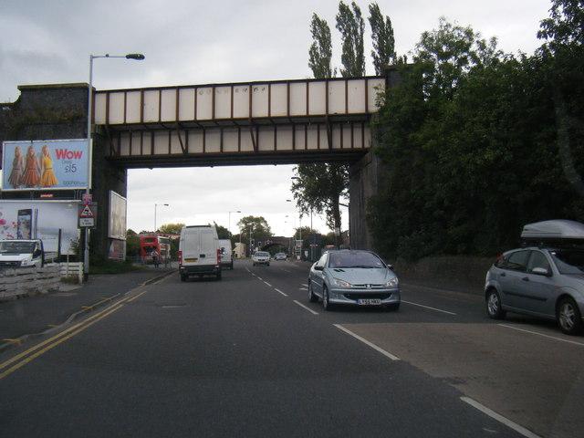Macclesfield Road railway bridge