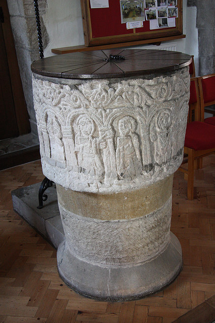 St.Mary's font