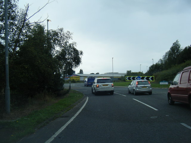 Handforth bypass roundabout