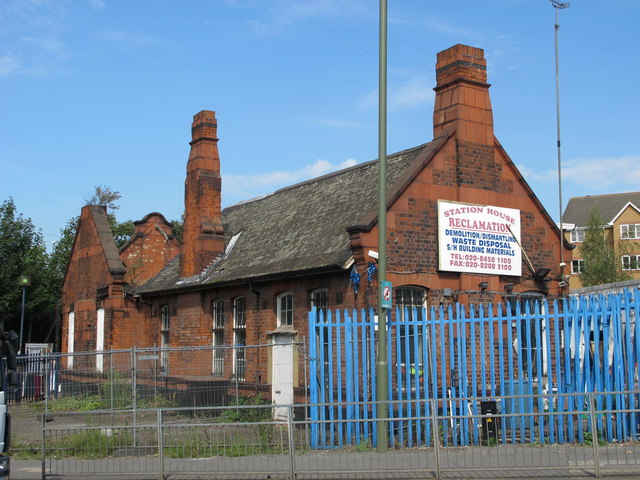 The old Station House, Cricklewood Lane, NW2