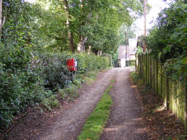 Beacon Lane & Bealings Holt Postbox
