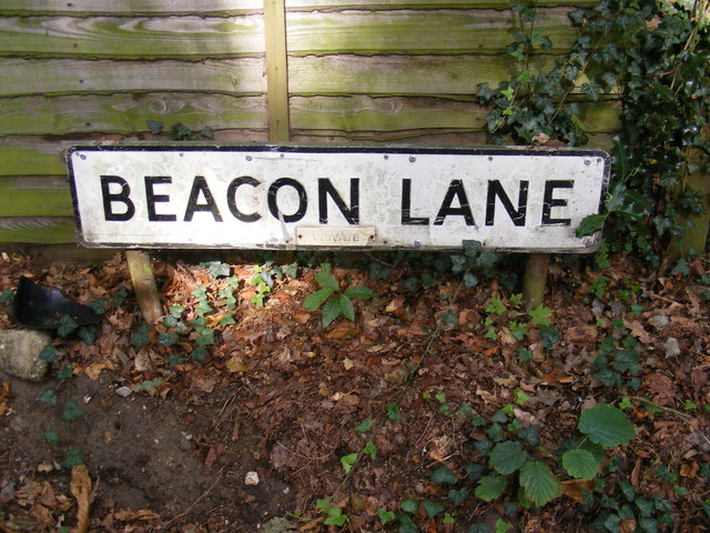 Beacon Lane sign