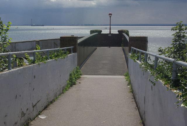 Footbridge at Chalkwell