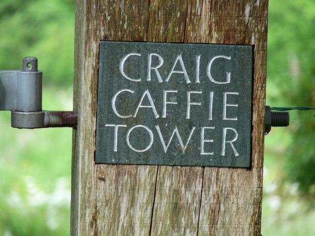 Craig Caffie Sign