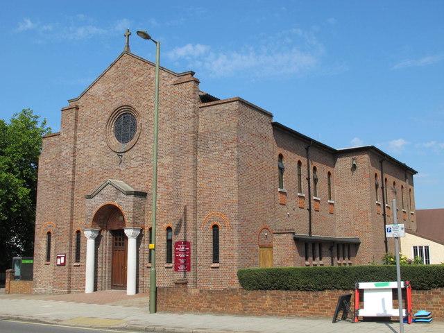 St. Agnes Roman Catholic Church, Cricklewood Lane, NW2