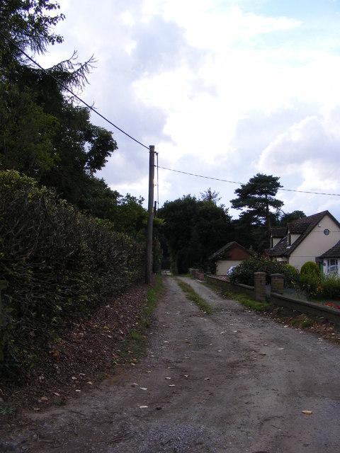 Beacon Lane, Little Bealings