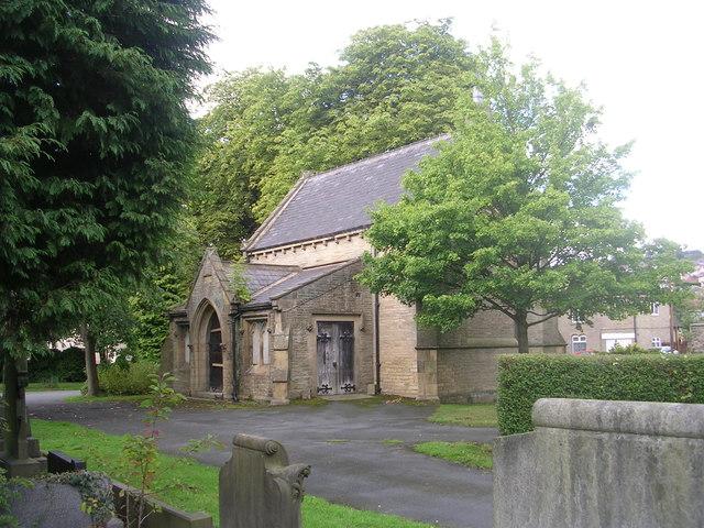 Charlestown Cemetery Chapel - Otley Road
