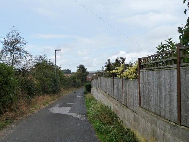 Back Lane, Clayton West