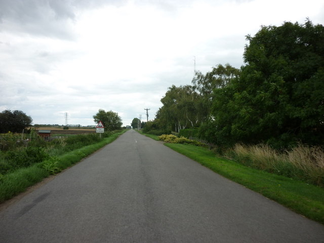 South Fen Road, to the east of Bourne