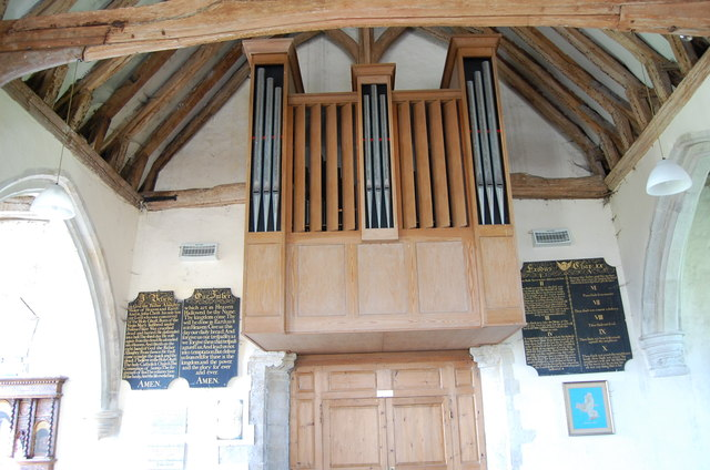 The Organ in St Mary in the Marsh Church