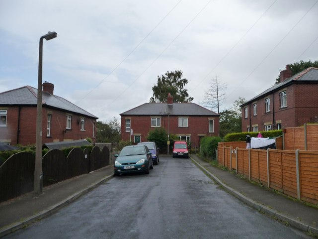The Royds, central section