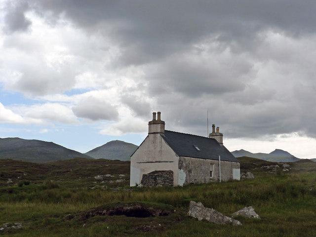 The Gamekeeper's (Salmon Bailiff's) house at Luachair