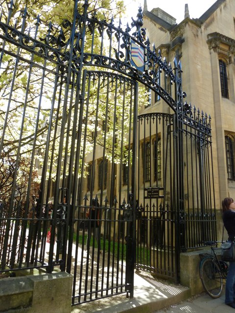 Gates in Merton Street
