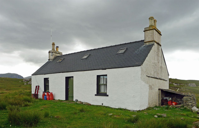 The old Gamekeepers house at Luachair
