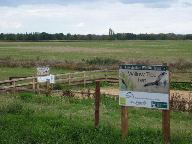 Willow Tree Fen, Lincolnshire Wildlife Trust