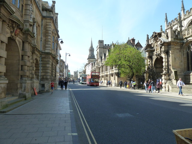 Mid section of High Street