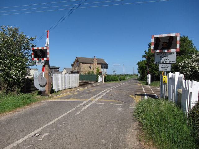 Cockpen Road level crossing