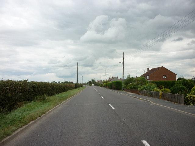 Bourne Road towards Spalding