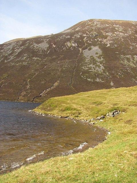 Loch Loch and Beinn a' Ghlo