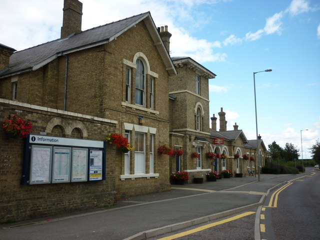 Spalding Train Station