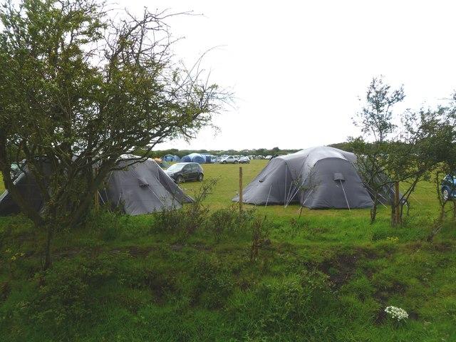 Lower Pennington, campsite