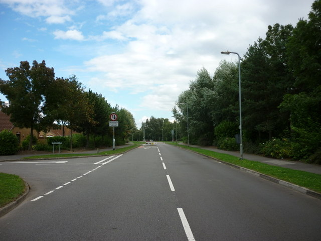 Wygate Park (road) Spalding