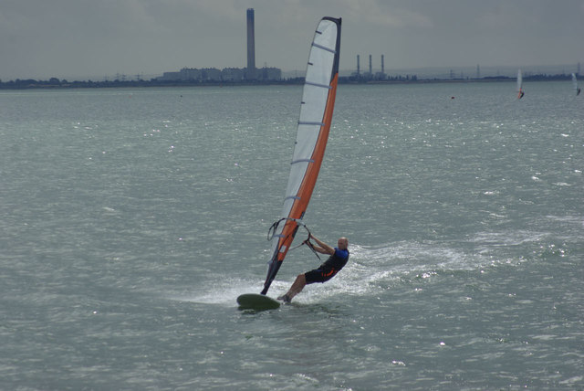 Windsurfing in Galway