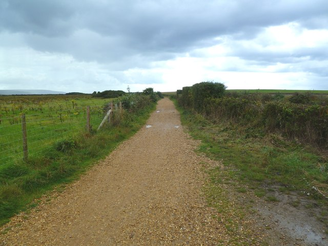 Keyhaven, cycle path
