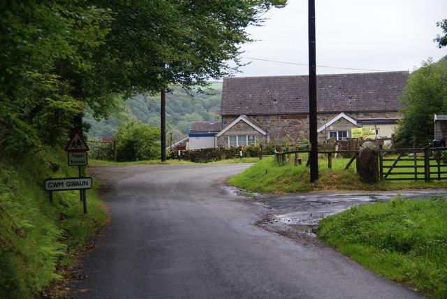 Entering Cwm Gwaun